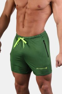 Jed North Agile Shorts Green JNBTM013