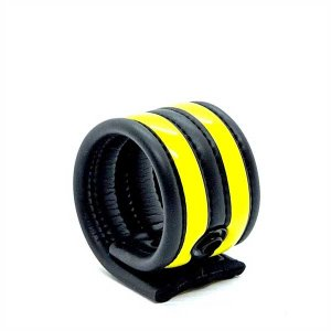 665 Inc. Neoprene Racer Ball Strap Yellow 19040M