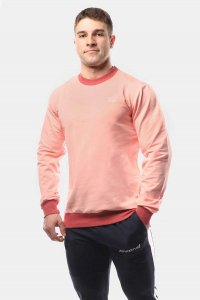 Jed North Rush Long Sleeved T Shirt Pink JNTOP029