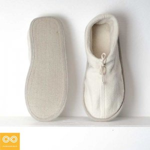 Rawganique Gershwin Glue Free Organic Cotton Fleece House Shoes Slippers RGFT-1747