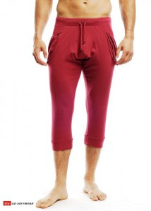 Go Softwear Pull-On Yogi 3/4 Pants Cardinal 4758