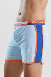 Nukleus Gift Collection The Gift's Nature Loose Boxer Shorts Underwear Light Blue N-WG-03