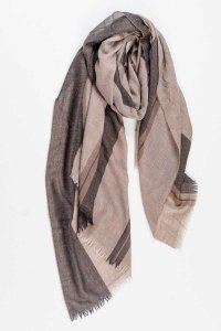 L'Homme Invisible Cosy Cashemere Silk Scarf Timeless Beige 1...