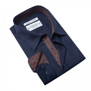 Jordan Jasper Frankford Long Sleeved Shirt Navy JJ446