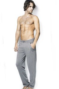 L'Homme Invisible Cosy Lounge Pants Grey HW118-COS-GC2