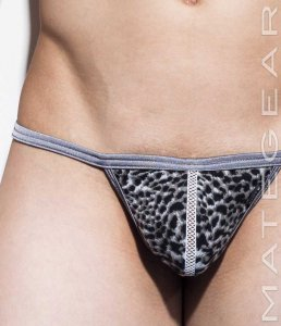 Mategear Hyun Jun Net Front Slit Xpression Mini G String Swi...