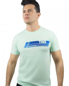 The Well Branded #TheWellBranded Basex Short Sleeved T Shirt Mint