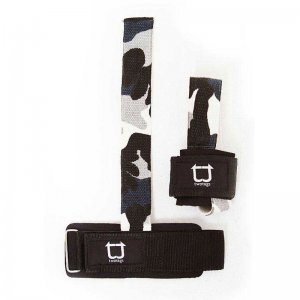 Twotags Weight Lifting Grip Straps Sportswear Camo