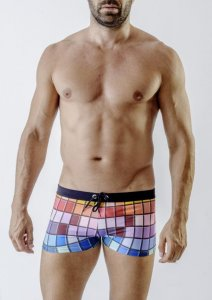 Geronimo Square Cut Trunk Swimwear 1718B1-1