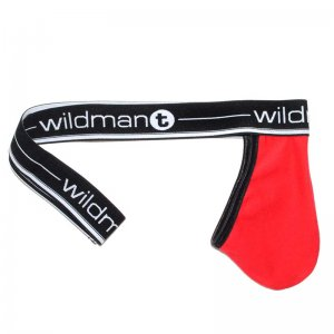 WildmanT Big Boy Strapless Jock Pouch Underwear Red WT-15