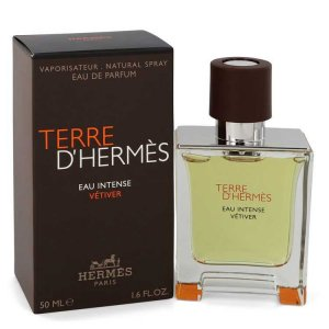 Hermes Terre D'hermes Eau Intense Vetiver Eau De Parfum Spray 1.7 oz / 50.27 mL Men's Fragrances 547795