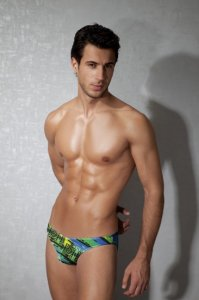 Doreanse Multicolor Stripe Slip Brief Underwear 01289
