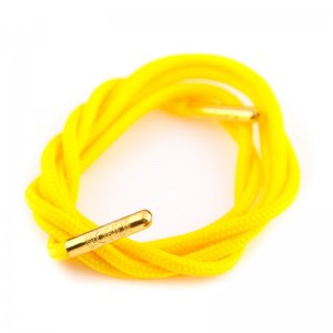 Bondi Laces Dress Laces Banana / Gold Tips DRESYE1G
