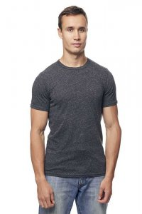 Royal Apparel Unisex Eco Triblend Short Sleeved T Shirt Eco Tri Charcoal 32051