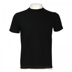 Minerva Outwear Short Sleeved T Shirt Black 19410