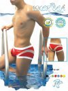 Icker Sea Transparent Curve Square Cut Trunk Swimwear COB-12-107