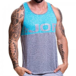 Jor PLAY Tank Top T Shirt Grey 0519