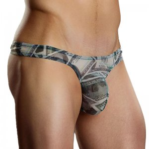 Male Power Benjamin Bong Thong Underwear 442-203