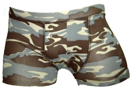 Lord Boxer Brief Army Print 7101EKROU