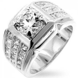 J Goodin Men's Ring R07686R-C01