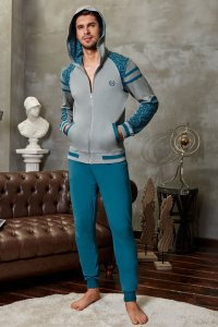 Doreanse Curly Hooded Zipper Jacket & Pants Set Sportswear 4...