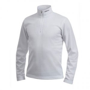 Craft Active Shift Pullover Long Sleeved Sweater White 194209