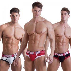 Code 22 [3 Pack] Contrast Brief Underwear 2401
