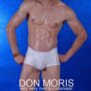 Don Moris Stars Boxer Brief Underwear White DM080842