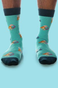 Curious Beaver Mermaids Socks