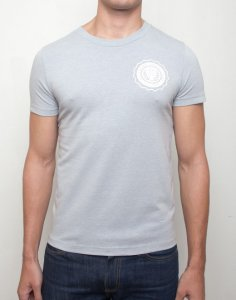 Supawear Sports Club Short Sleeved T Shirt Grey Marle T11SCGM