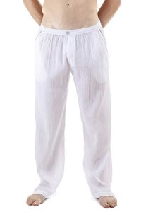 L'Homme Invisible Breeze Lounge Pants White MY106-CLO-002