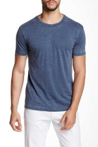 Mr.Swim The Casual Short Sleeved T Shirt Burnout Oxford