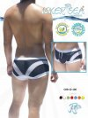 Icker Sea Transparent Curve Square Cut Trunk Swimwear COB-12-106