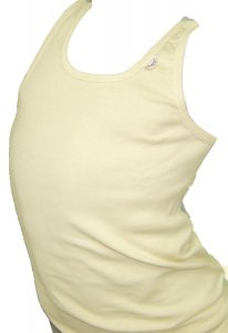 Lord Solid Camisole Tank Top T Shirt Ecrou 115