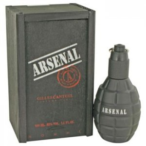 Gilles Cantuel Arsenal Black Eau De Parfum Spray 3.4 oz / 10...