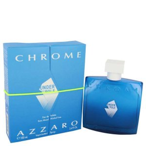 Azzaro Chrome Under The Pole Eau De Toilette Spray 3.4 oz / ...