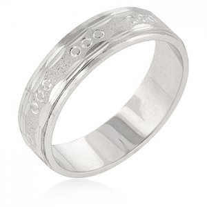 J Goodin Classic Wedding Men's Ring R06302R-C00