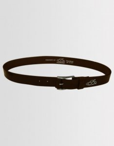 Kear&Ku Casual Leather Belt Brown