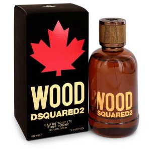 Dsquared2 Wood Eau De Toilette Spray 3.4 oz / 100.55 mL Men'...