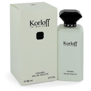 Korloff In White Eau De Toilette Spray 3 oz / 88.72 mL Men's...