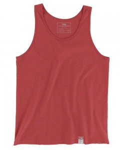 The Well Branded 100% Soft Airlume Cotton Classix Tank Top T Shirt Red