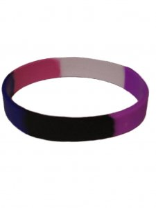 DBE Gender Fluid Silicone Armband