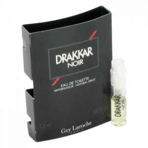 Guy Laroche Drakkar Noir Vial (Sample) 0.04 oz / 1.18 mL Men...