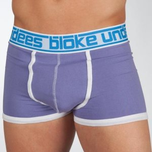Bloke Undees Basic Pastel Boxer Brief Underwear Purple BBPP