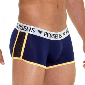 Perseus Sparta Side Mesh Trunk Underwear Dark Blue 1-11290-415410