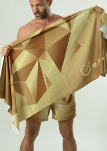 Geronimo Towel Brown 1610X1-3