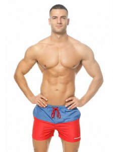 Marcuse Incas Shorts Blue/Red