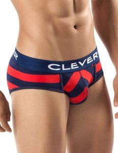 Clever Termoli Piping Brief Underwear Red 5227