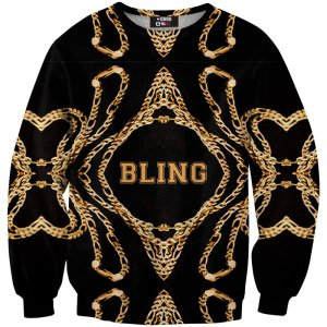 Mr. Gugu & Miss Go Bling Unisex Sweater S-PC101