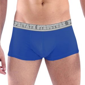 Private Structure Color Peel Trunk Boxer Brief Underwear Blue 99-MU-1605